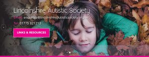 Lincolnshire Autistic Society banner