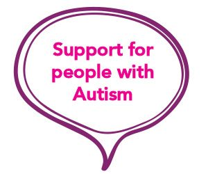 Support for autistic people